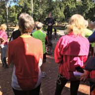Master Ride Leader Graeme addresses candidates