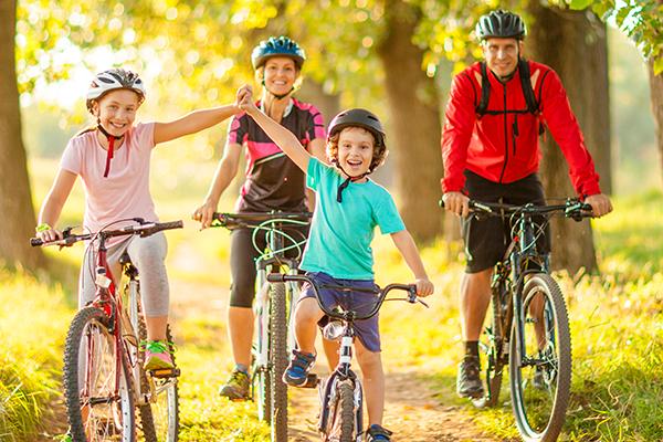 Kids With A Bike