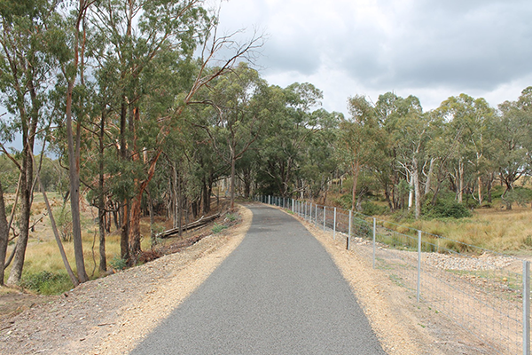 Tumbarumba to Rosewood Rail Trail