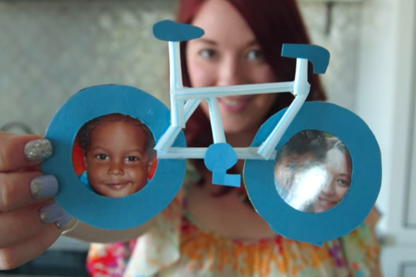 Bicycle Photo Frame