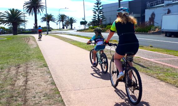 Cycling in Wollongong