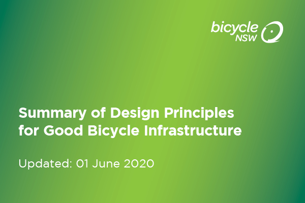 Guide to Good Bicycle Infrastructure