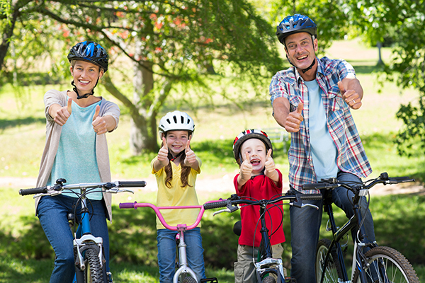 Happy Bike Riders