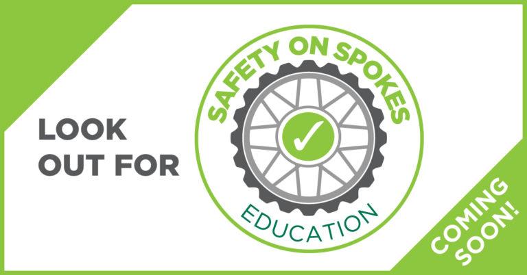 Safety on spokes logo