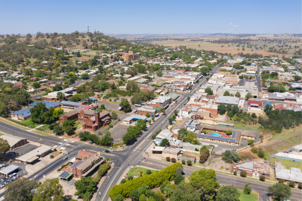 Cowra From Above