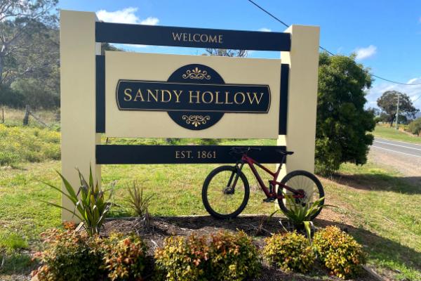 Sandy Creek Sign